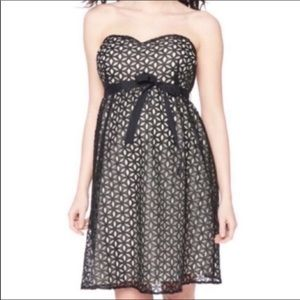 Maternity Belted Eyelet Dress *Flaw